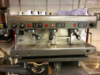 Wega coffee machine 3 group