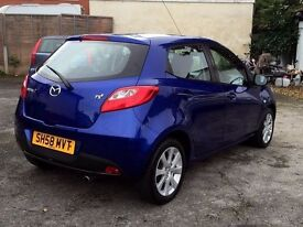 2008(58)MAZDA2 1.3TS2-5DR,MOT SEP.2017,ONE OWNER,83000 GENUINE MILES/SERVICE HISTORY,HPI CLEAR