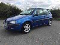 **STUNNING EXAMPLE 1999 CITROEN SAXO VTS, 1.6 16v MANUAL, 12M MOT, GOOD HISTORY**