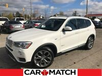 2015 BMW X3 xDrive28i / NAV / ROOF / NO ACCIDENTS Cambridge Kitchener Area Preview