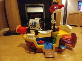 Pirate Ship from Fisher Price