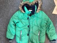 Jasper conran j jeans green bomber jacket Age 7 -8 for sale  Suffolk