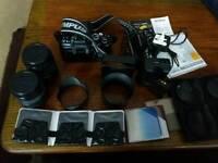 Digital Olympus 420 camera