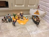 Playmobil Egyptian Boat and Sphinx