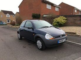 08 FORD KA 1.3 60K 5 MOT 3 OWNERS 100% RELIABLE £795