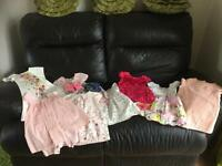 Next ted baker m&s Zara job lot summer dresses 8 pieces plus 2 pairs of shoes