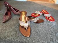 Asian party footwear