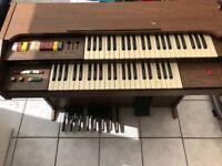 Electronic vintage Belton organ