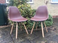 Vintage inspired EIFFEL chairs EAMES tapered legs