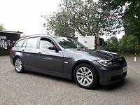 2006 BMW 320d SE Touring E91, Grey, Full Service History, Long MOT, 1 Prev Owner, 2 Keys, HPI Clear
