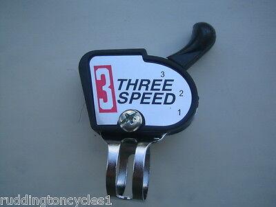 3 Speed cycle / bike gear shifter suit Sturmey Archer 3 speed hub