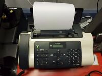 Canon Fax Machine FAX-JX200 combined fax, telephone and printer