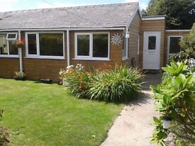 lovely chalet to rent at whitsand bay.