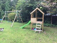 TP Wooden Multiplay Playhouse