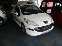 Peugeot 207 Van Ex.BT from New 2008