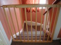 Extending Wooden Stair Gate