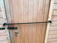 Home security lock shed locking bar door window lock