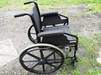 ANGEL MOBILITY SELF PROPELLED WHEELCHAIR(NO FOOTRESTS) Uniscan Triumph mobility walker walking aid.