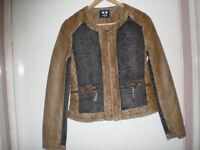 eco-leather-jeans jacket