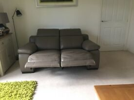 Ordered and delivered DFS Riposo 2 STR power leather recliners in Granite plus 2leather kits