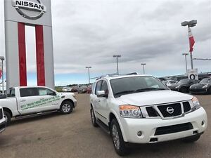 2015 Nissan Armada Platinum V8, showroom condition Fully Loaded