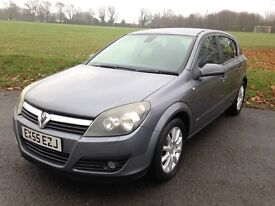VAUXHALL ASTRA 1.6i 16V Design 5dr Easytronic AUTOMATIC in Black. Not Focus, A3, Megane or Fusion.