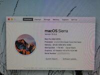 APPLE MAC PRO DESKTOP - 28GB Ram - 1TB + 3 TB WD Purple + 500 GB - 4 x USB 3.0 - HP w2228h monitor