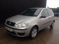 2004 (54) Fiat Punto 1.2 8v Active 3dr 1 Previous Owner, 2 Keys, Long MOT, Low Mileage, May Px