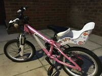 Girl's Carrera Mountain Bike 4-7 years