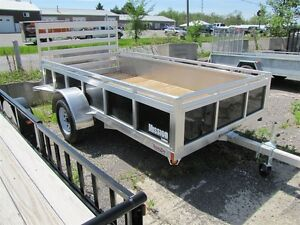 2016 Mission Trailers 6x12 Aluminum Utility Trailer