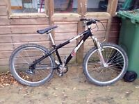 """Azonic DS1 custom Jump/dirt bike - 14"""" frame - marzocchi bombers front suspension"""