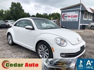 2013 Volkswagen Beetle Coupe Highline TDI - FREE WINTER TIRE PAC