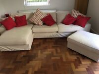 Ikea settee 3 yrs old , very little use , washable ,some spare covers