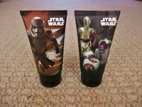 2 X 75ml Marks & Spencer M&S Star Wars Shower Gel Gift Idea Birthday Fathers Day
