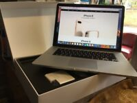 Macbook Pro 15 Retina Display Intel Core i7 2.3GHz 512GB SSD 8GB RAM Comes with box original Charger