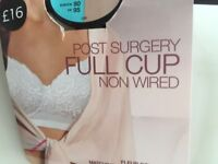 Post Surgery Full Cup Non Wired Bras BNWT