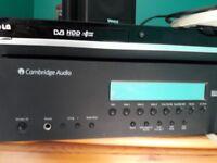 Cambridge Audio AV Receiver, CD player and 4 speakers