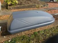 Halfords 250L Roof Box Grey