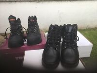 3 x new work boots size 9