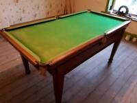 Snooker table 6 foot slate bef