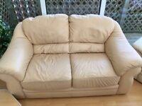 2 Seater Leather Sofa. Tan colour. Good condition.