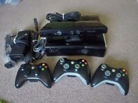 Xbox 360 500GB + Kinect + 3 Controllers + Games