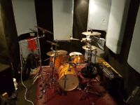 Monthly hire rehearsal space for bands and producers BS2