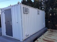FOR SALE 16 x 9ft 3+1 Anti Vandal Jack Leg/ Site Toilet/Portable Toilet Block/MORE AVAILABLE
