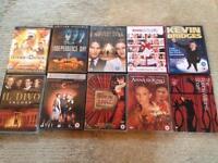 10 DVD's