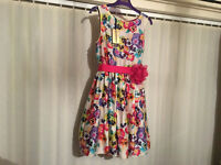 Ted Baker Pansy Print Dress For Sale