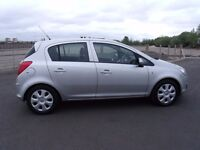 "VAUXHALL CORSA 1.4i 16v EXCLUSIVE AIR-CON 5 DOOR 2010 ""60"" REG 67,000 MILES"