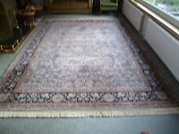 Rug 100% wool-Louis de Poorterre-very good condition 2.45 mtrs x 3.58 mtrs