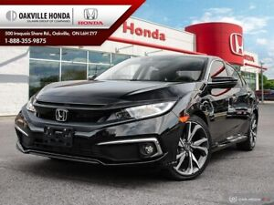 2019 Honda Civic 1-Owner|Clean Carfax|Low KM|Navigation|Blind Sp
