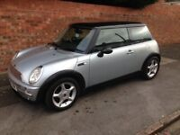 MINI COOPER 1.6L, 2003 REG, LONG MOT, LOW MILEAGE, FULL HISTORY, NICE SPEC WITH CD PLAYER & ALLOYS
